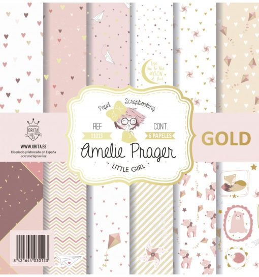 little-girl-gold-7-papeles-scrapbooking