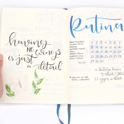 Bullet journal taller en Barcelona