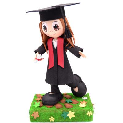 Fofucha hecha a mano - Graduación