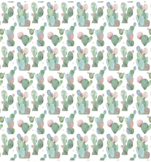 Set 7 papeles scrapbooking coctel de cactus - Amelie Orita