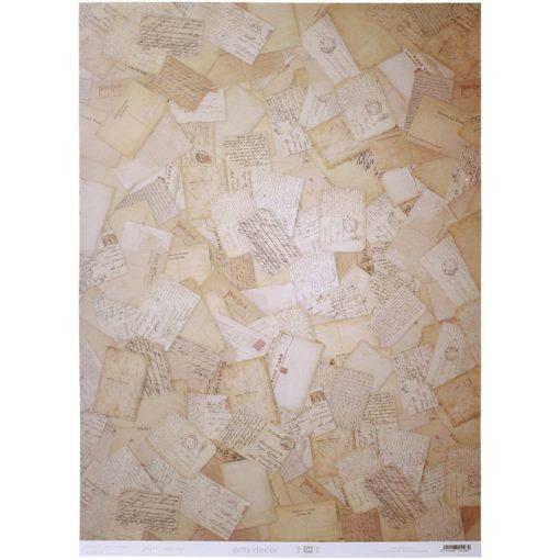 """Sobres y cartas"" - Papel Cartonaje – Artis Decor"