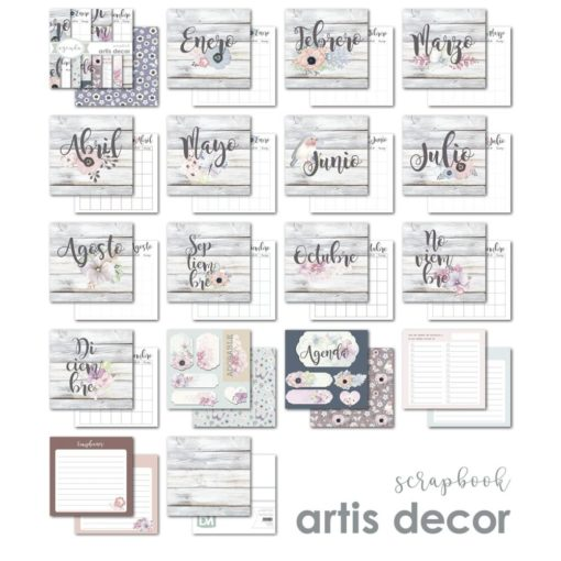 agenda papel scrapbooking artis decor-2