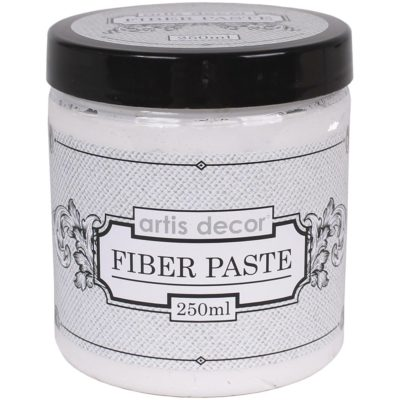 fiber paste 250 gramos artis decor