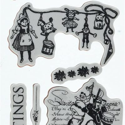 Sellos Night before Christmas - Cling Stamps Nº6 - Graphic 45