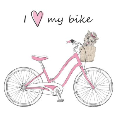 I love my bike - Papel sublimación - 30x30 cm - Artis Decor