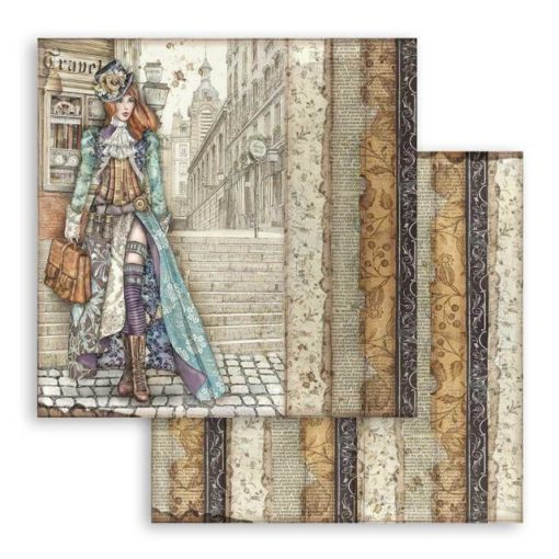 Lady Vagabond Papel de scrapbooking - Stamperia