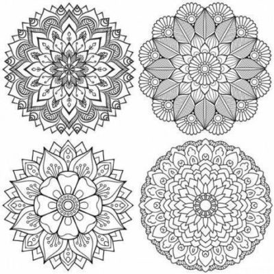 Mandala 2 - Papel sublimación - 30x30 cm - Artis Decor