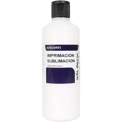 Imprimación especial para sublimación - 60 y 250ml - Artis Decor2