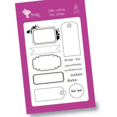Sellos Labels - 15x10cm - Amelie Orita