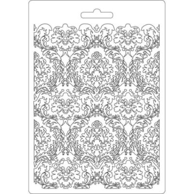 Molde flexible Damask - Tamaño A5 - Stamperia